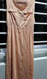 Preloved good condition long dress