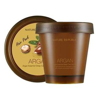 Nature republic argan essential deep care hair