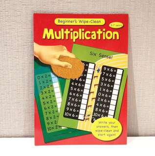 Beginners Wipe Clean: Multiplication (5-7 years)