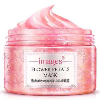Images Flower Petals Mask Pink Rose