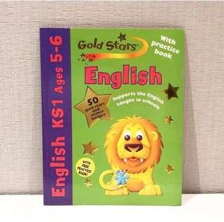 Gold Stars English KS1 Ages 5-6