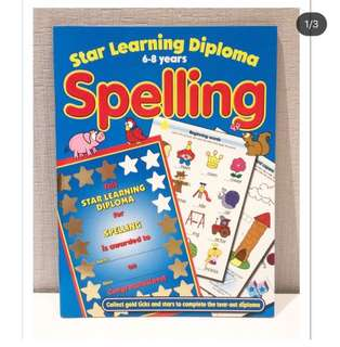 Star Learning Diploma Spelling 6-8 years