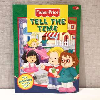 Fisher Price Tell The Time 3+