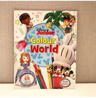 Disney Junior Colour my World