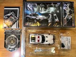 Takara Tomy Transformers 變形金剛MP-17 NISSAN FAIR LADY 280Z-T PROWL 日產 戰略家 警車 mp17