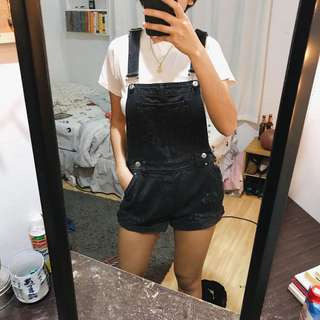 h&m overalls/shorts
