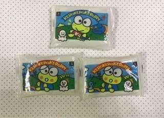 Sanrio keroppi 絕版紙巾3包