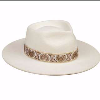 Lack Of Color - The Beverly - Cream Wool Fedora Hat
