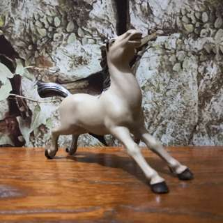 Hand painted ceramic horse figurine