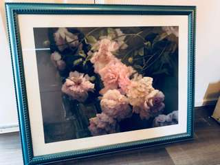 FLORAL FRAMED ARTWORK