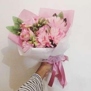 Bouqet/Buket Bunga Pink Theme