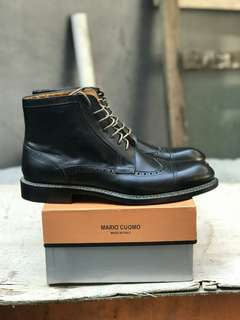Sepatu Booth Mario Cuomo Made In Italy New