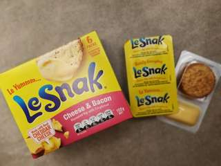 🈹🈹💥Le snak 🧀🧀 cheese & bacon 🧀🧀 6packs 夏日清貨 最後幾盒 新西蘭空運