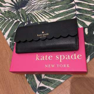 Kate Spade Black Wallet Dompet