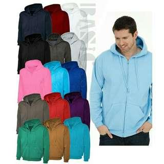 Jaket hoodie ziper