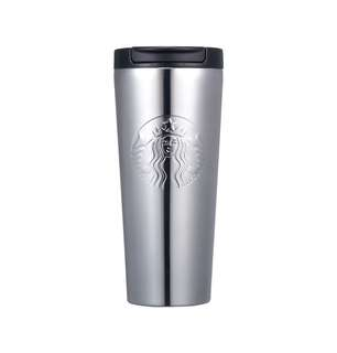 🆕Starbucks® 16oz Stainless Steel Silver Etched
