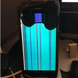 壞機 iPhone5 黑色 當零件出售