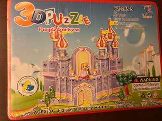 3D puzzles for kids -Princess theme puzzles