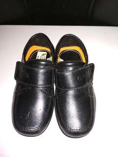 Boys Black Shoes 3-4years old