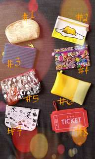 Make-up pouches