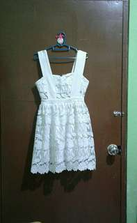 Osmose Crochet Dress