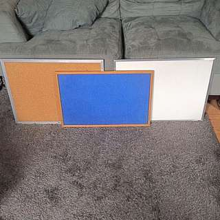 White Board / Cork Boards
