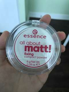 Essence all about Matte fixing compact powder