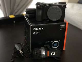 NEW* SONY A6500 Body Only