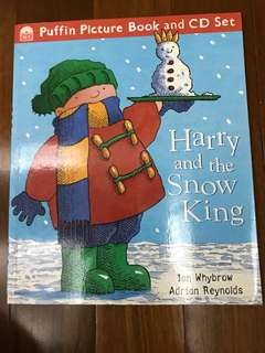 Harry and the snow king with CD