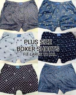 Plus Size Boxer Shorts