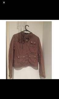 M sized brown jacket