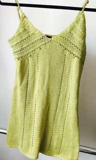 Casa Blanca crotchet Mini Dress
