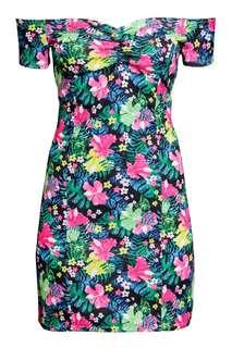 H&M Offshoulder Dress