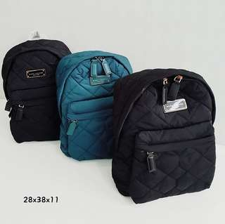 Marc Jacobs Quilted Backpack sz 29x38x12