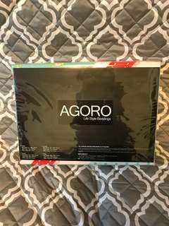 AGORO Bedding Set - country pattern (SINGLE SIZE)