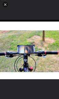 Brand new bicycle adjustable phone mounting /4 Side support holder