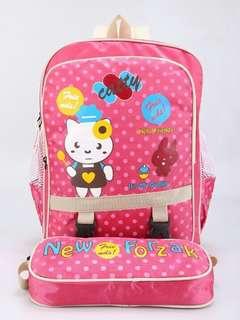 Tas sekolah anak perempuan