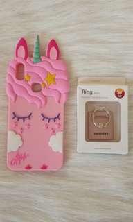 Vivo V9 Unicorn Case with iRing