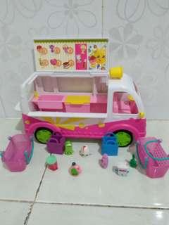 Shopkins truck ice cream
