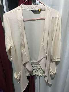 SM Woman Flesh Cardigan