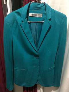 Stradivarius Mint Green Blazer
