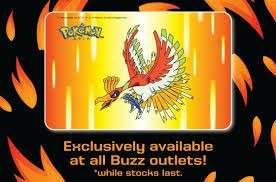 🚚 Pokemon Hooh Ho-Oh Ezlink card