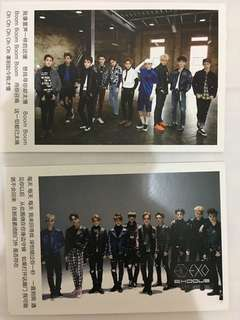 EXO團體postcard