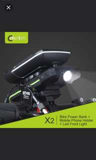 Brand new Meilan X2 Bicycle/scooter/DYU Phone Holder + Mobile Phone Charger + LED Headlight (Limited Stock)