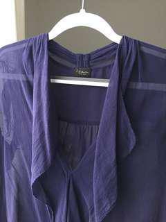 Aritzia Babaton Tinsley blouse XXS