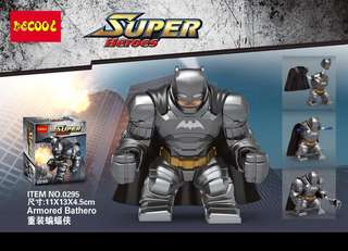 Latest DECOOL 0295 Batman Armored Big Figure