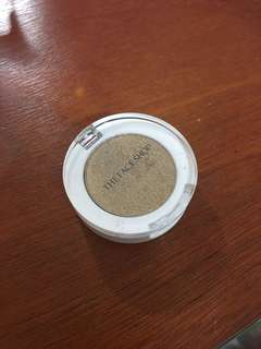 Gold eyeshadow pigment from the face shop