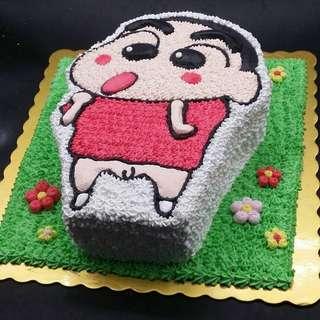 蠟筆小新蛋糕兩磅
