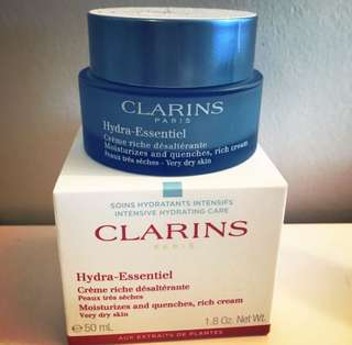 CLARINS | Hydra-Essentiel Rich Cream | Very Dry Skin |