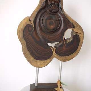 ROSEWOOD SLAB ART (KS072)